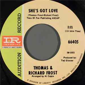 Thomas & Richard Frost - She's Got Love / The Word Is Love album