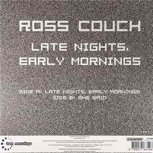 Ross Couch - Late Nights, Early Mornings album