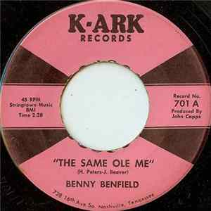 Benny Benfield - The Same Ole Me album