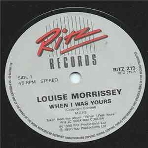 Louise Morrissey - When I Was Yours album