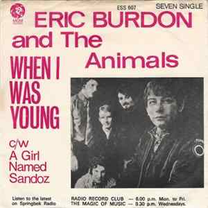 Eric Burdon And The Animals - When I Was Young album