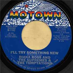 Diana Ross And The Supremes & The Temptations - I'll Try Something New album