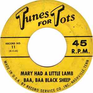 Unknown Artist - Mary Had A Little Lamb album