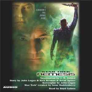 J.M. Dillard Read By Boyd Gaines - Star Trek: Nemesis album