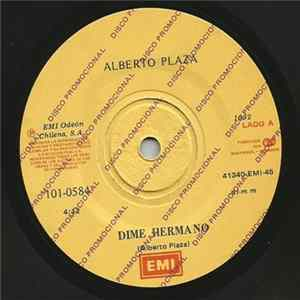 Alberto Plaza - Dime Hermano / Complices album
