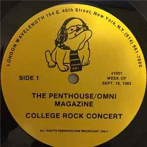 Tears For Fears - The Penthouse / Omni Magazine College Rock Concert album
