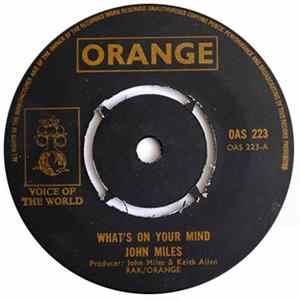 John Miles - What's On Your Mind / Rock 'N' Roll Band album