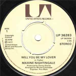 Maxine Nightingale - Will You Be My Lover album